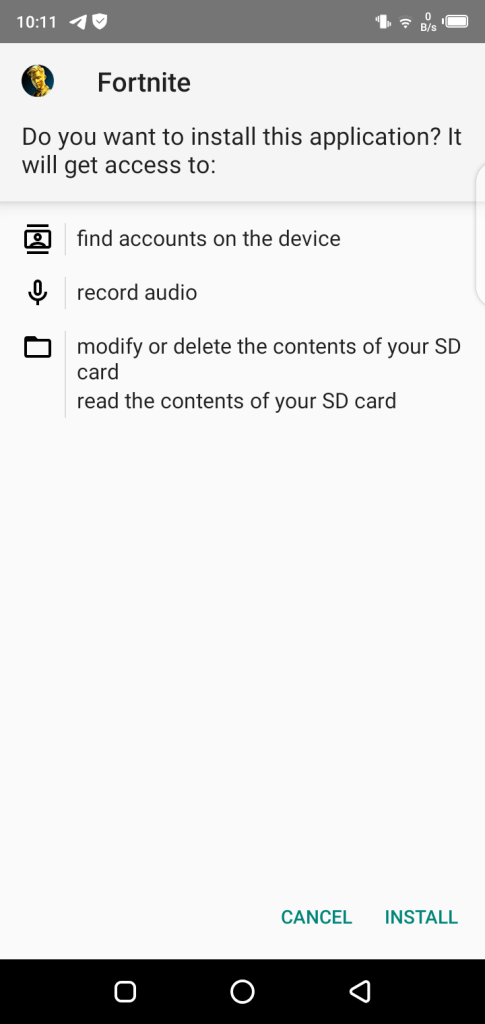 Screenshot Of GSM Fix Fortnite
