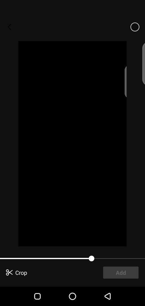 Screenshot of Capcut Pro App