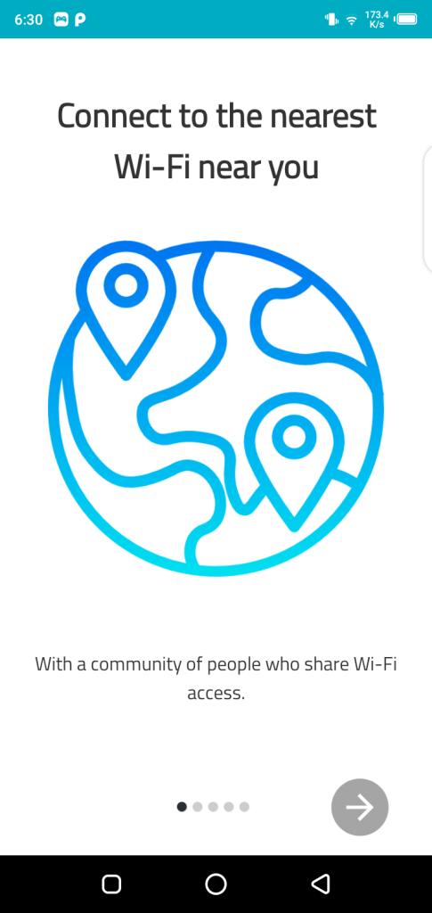 Screenshot of Wi-Fi Warden Pro App