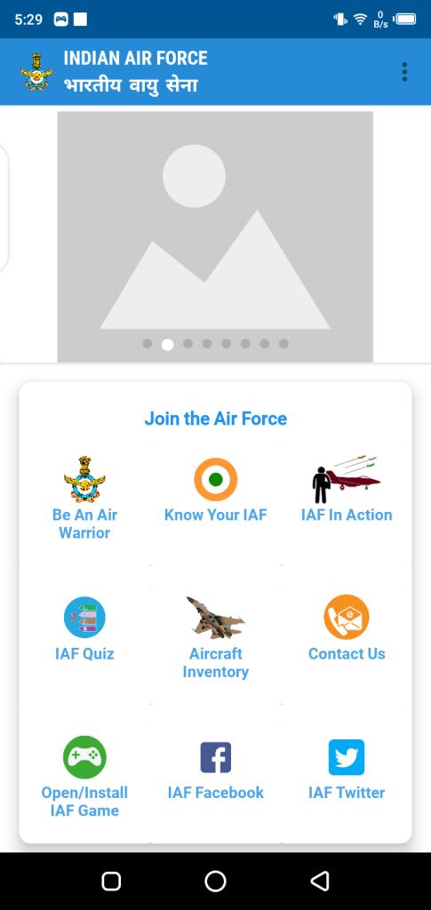 Screenshot of My IAF Apk