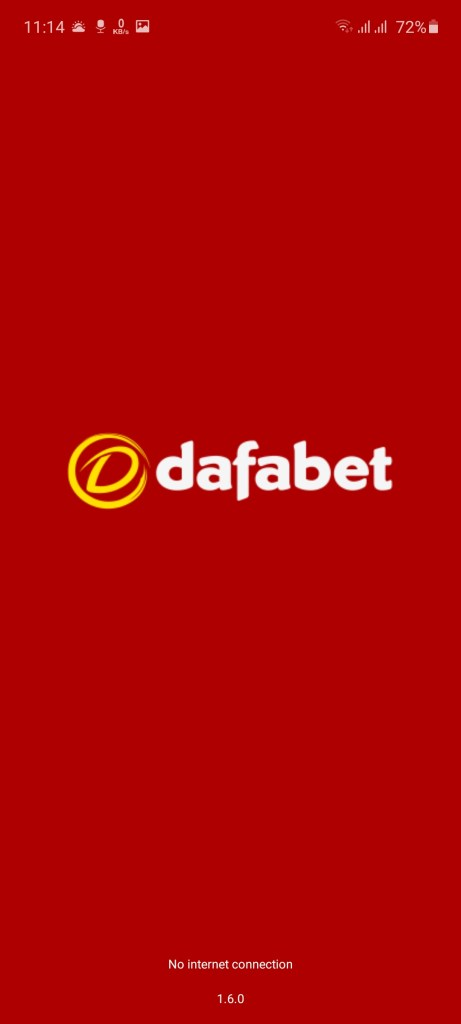 Screenshot of Dafabet