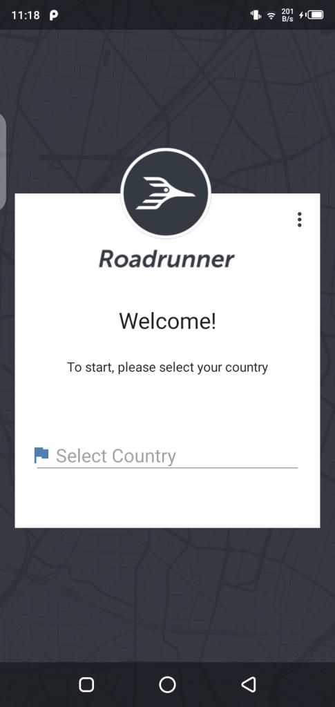 Screenshot of Roadrunner Apk