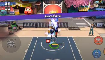 Screenshot of Basketrio Mod App