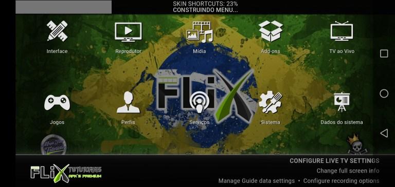 Screenshot of Flix TWT Premium App Apk