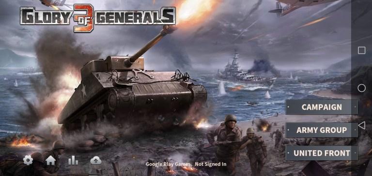 Screenshot of Glory of Generals 3 Apk