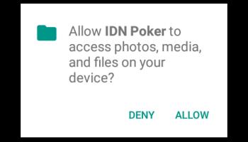 Screenshot of IDN Poker App Apk