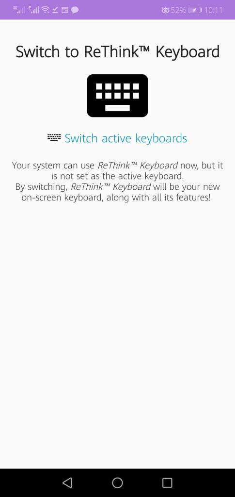 Screenshot of Rethink App Apk