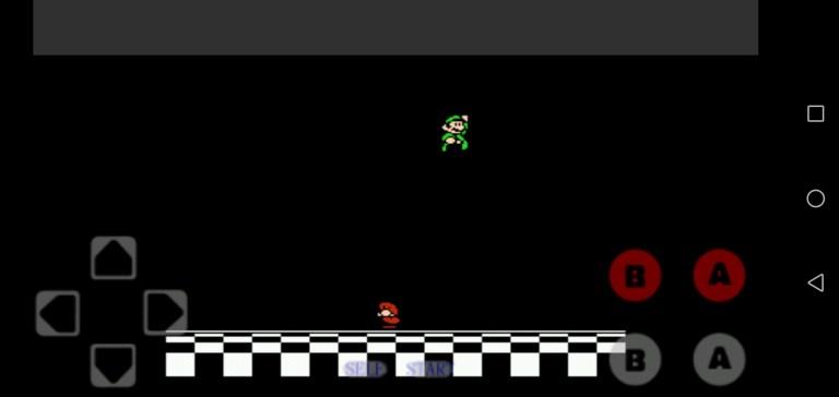 Screenshot of Super Mario Game