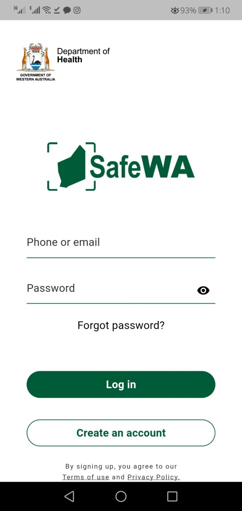 Screenshots of Safewa  Apk