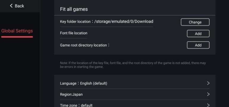 Screenshot of Egg NS Emulator Apk