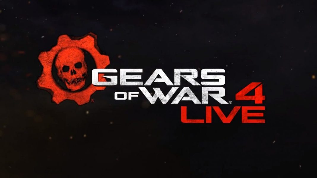 Gears Of War 4 Live