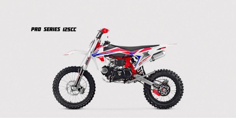 125cc - PRO SERIES - Vermelha-min