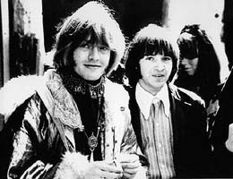 Brian Jones and Rodney Bingenheimer