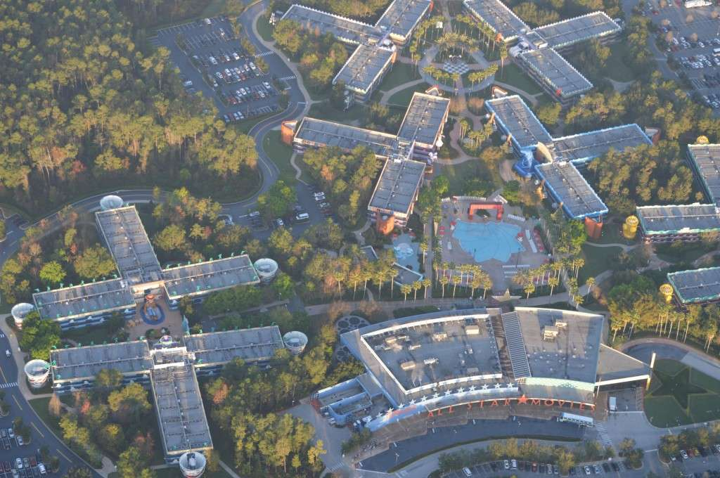 Orlando Balloon Rides- All Star Resort