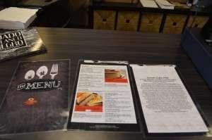 Sweet Cafe 1739 Menu