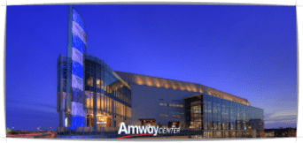 Amway Center in downtown Orlando