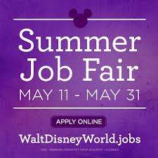 Walt Disney World job fair -  Orlando Fun and Food