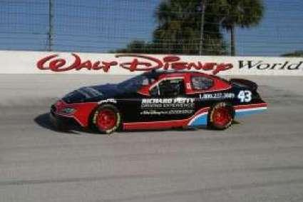 Richard Petty Driving Experience at Walt Disney World Speedway (photo courtesy of Walt Disney World media)