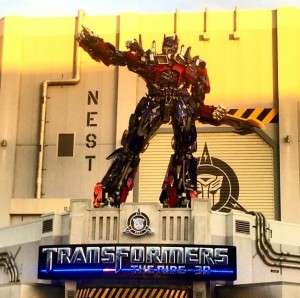 Transformers The Ride: 3-D