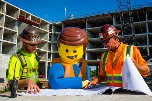 Construction of the Legoland Hotel