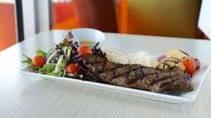 Amazing steak at Giraffas!