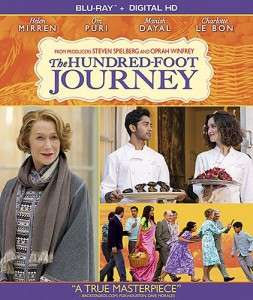 100 Foot Journey DVD Cover
