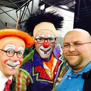 I think I would make a great  clown!!! What do you think