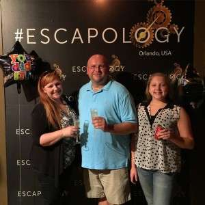 We did it!!! Escaped the room at  with just 59 seconds to go!!! We have done this in the past and this room was so much better than we have expected!!!  !