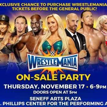 WrestleMania 33 Presale