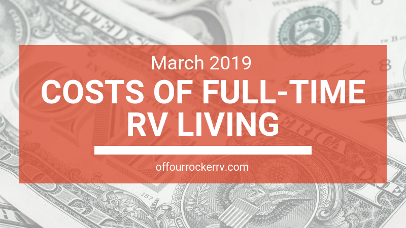 COSTS OF FULL-TIME RV LIVING_ MARCH 2019-1