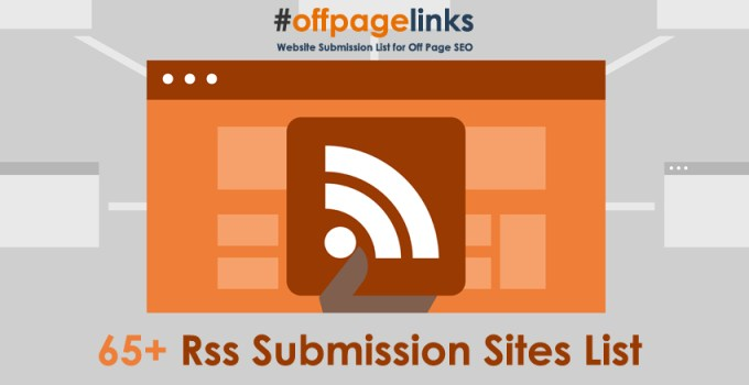 Rss Submission Sites List