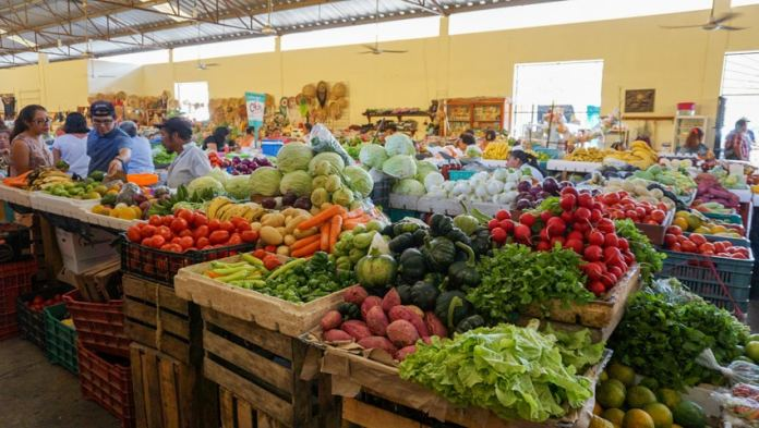 Municipal Market in Valladolid, Yucatan, Mexico