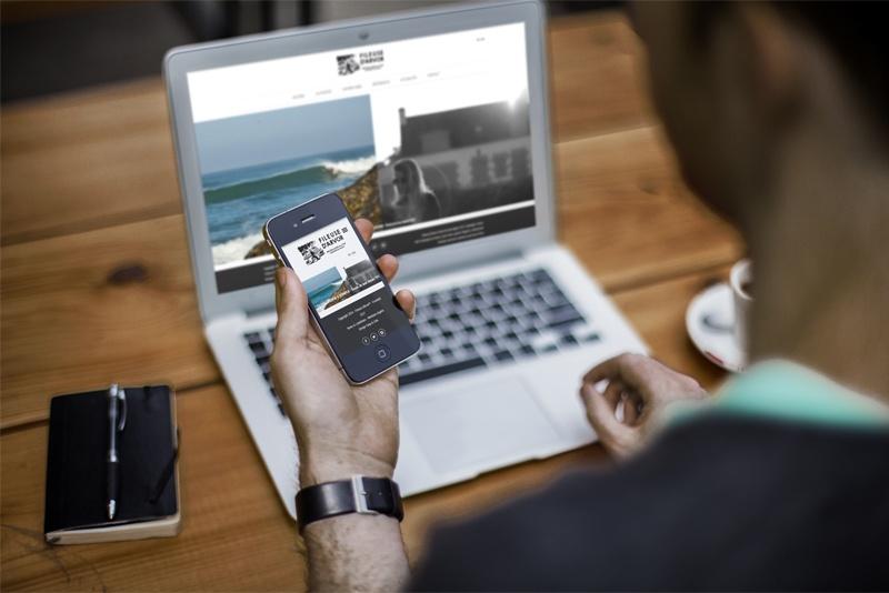 Fileuse d'Arvor - Smartphone