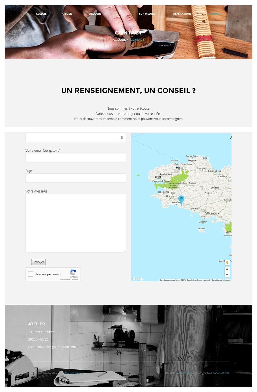 Contact Atelier Gourlaouen