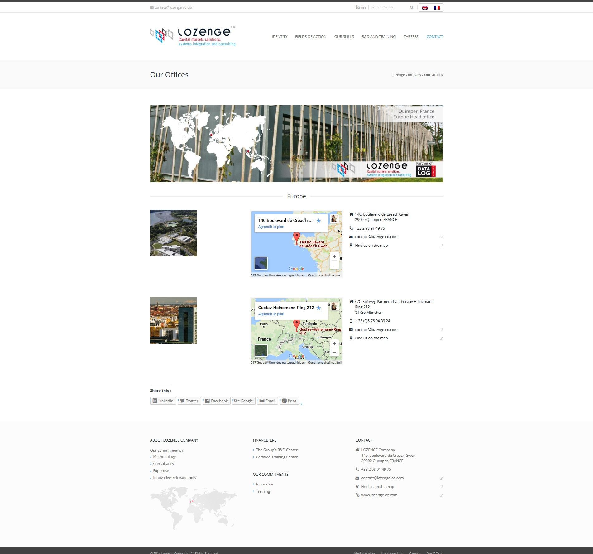 Lozenge Company - Contact
