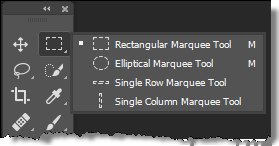 Photoshop Marquee Tools