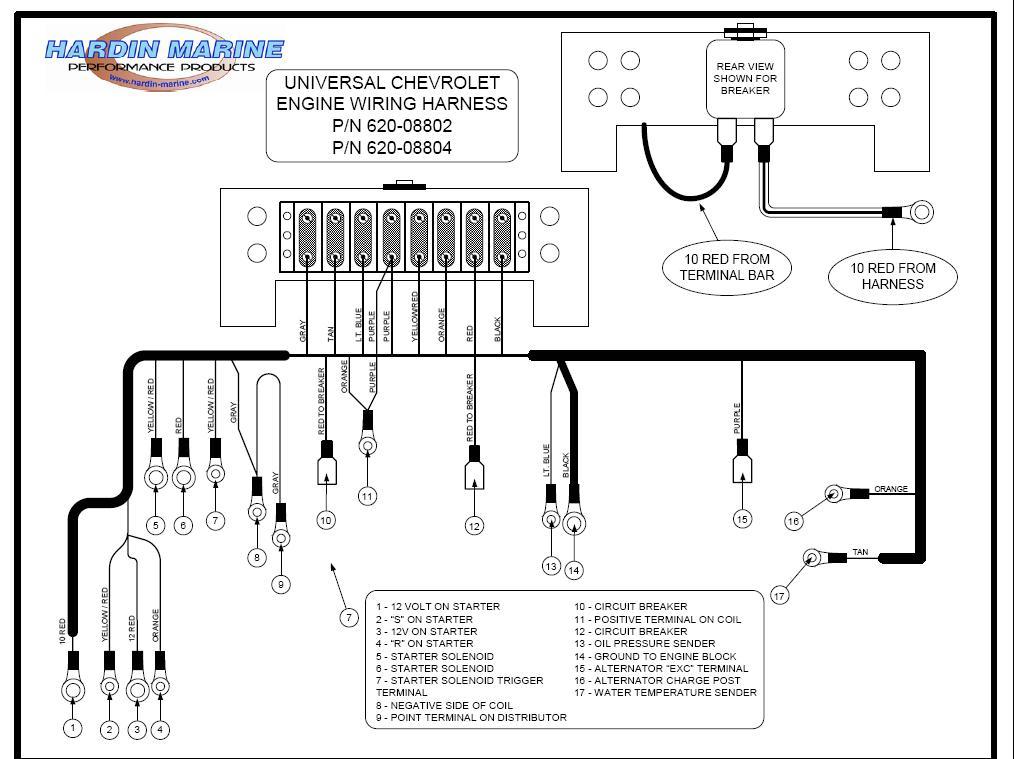 Mercruiser 5 0 Alternator Wiring Diagram - Somurich.com