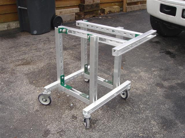 Outdrive Stand And Lift Homemade No Welding