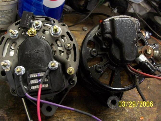 alternator wiring  offshoreonly