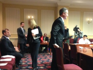 BizMDOSW supporters (Alpha Energy and EDF) testify along with Governor O'Malley