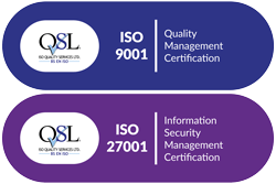 ISO 9001 27001 Quality Management Information Security Certified