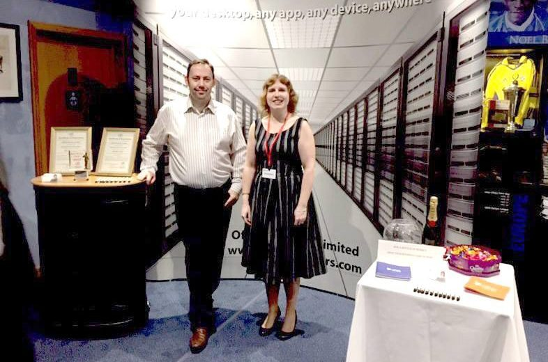 Phil and Claire at BCFC Expo 2017