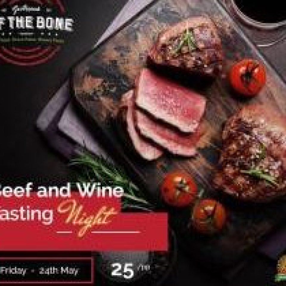 Beef & Wine Tasting Night