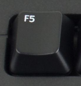F5 keeps the code alive