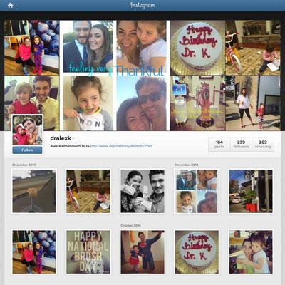 Instagram Marketing - Alex Kalmanovich DDS