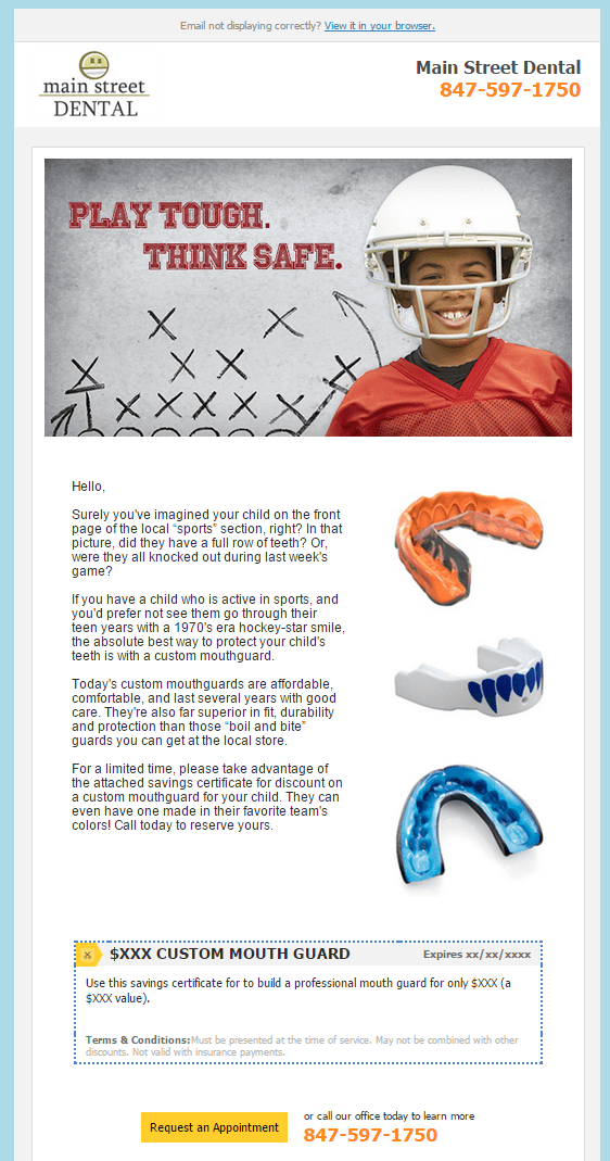 Dental Appliance Campaign - RevenueWell - Why You Should Market Directly To Your Teenage Patients