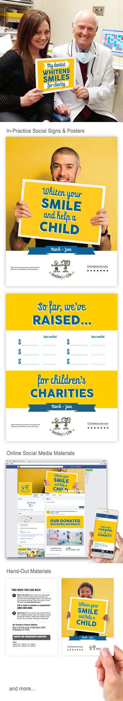 Charity program that supports your practice