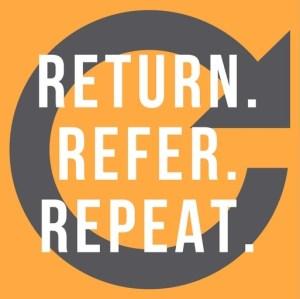 return refer repeat