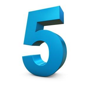5 blog post ideas