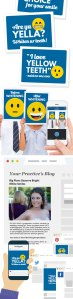 Smile Whitening Marketing Materials for Social Media